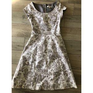 Isaac Mizrahi for Target floral midi dress